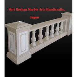 Marble Baluster Railing