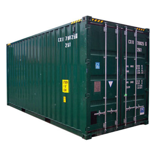 End Open Shipping Containers