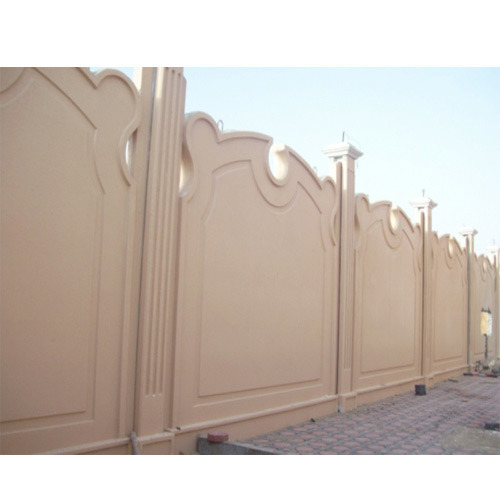 Simple Boundary Wall Design : Compound wall design photos joy studio gallery