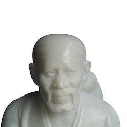 Carved Sai Baba Statue