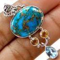 Blue Copper Turkish Jewellery