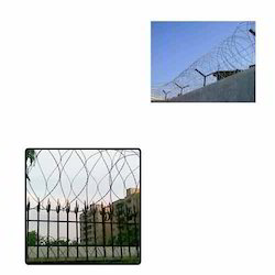 Circle Concertina Wire for Buildings