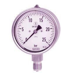 Bourdon Tube Pressure Gauges