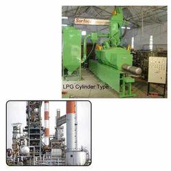 LPG Cylinder Blasting Machine