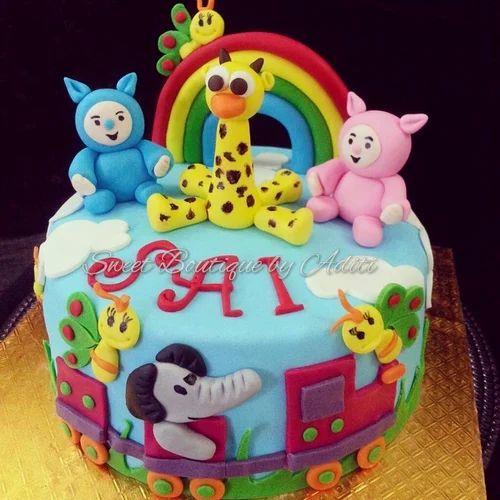 Cartoon Design Cakes & Wedding Design Cakes Manufacturer from Pune