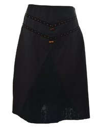 Black Formal Wear Skirt