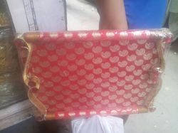 Broket Saree Packaging Try