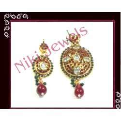 Polki Earring Set