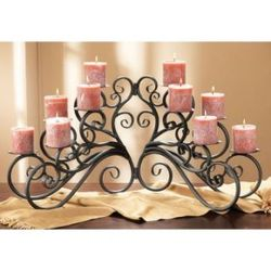 Ten Light Candelabra