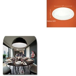 Round Dining Plate for Home
