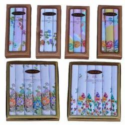 Floral Printed Hankies