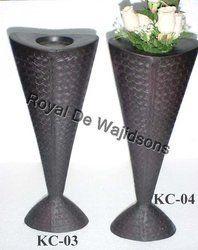 Cast Iron Designer Vase