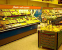 Fruit & Vegetable Storage-Retail Rack