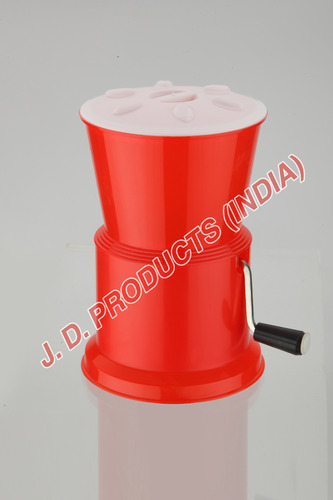Round Chilly Cutter Plastic Red