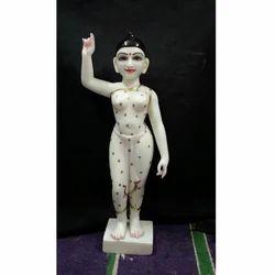 Radha Sakhi Marble Moorti