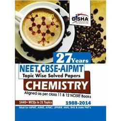 27 Year Neet, Cbse, Aipmt Chemistry Book