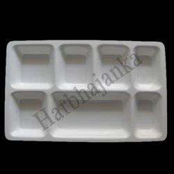 Acrylic 7 Portion Tray
