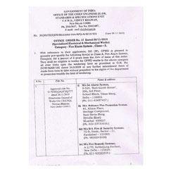 Registration Certificate - 2