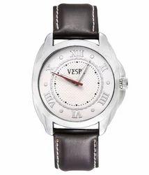 VESPL Urbane White Dial Analog Men's Watch-VS184