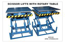 Scissors Lift with Rotary Table