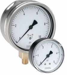 Low Pressure Diaphragm and Capsule Gauge