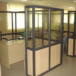 Aluminum Office Partitions