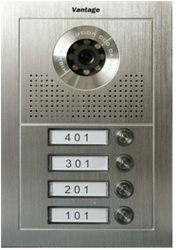 4 bell color video door station in ss body