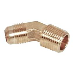 Brass Flare 45 Degree Elbow