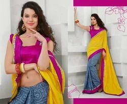 Simple Indian Fancy Designer Sarees