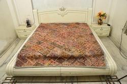 Paki Zari Bed Cover