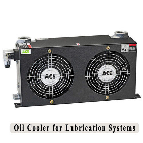 Air Cooled Oil Cooler With Hydraulic Motor Oil Cooler