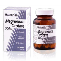 Magnesium Orotate 500 Mg 30 Tablets