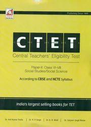 CTET Paper II Class VI-VIII Social Studies Science - Book
