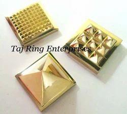 Brass Pyramid Yantra