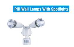 PIR Wall Lamps With Spot Lights ls-68