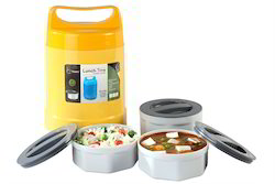 microwaveable stainless steel food grade container