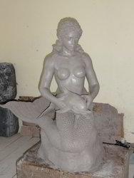 FRP Jalpari Sculpture