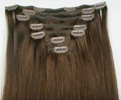 100% Indian Remy Clip on Hair Extensions