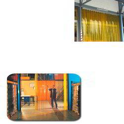 PVC Strip Curtains for Laboratories