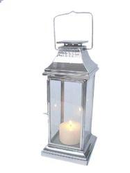 Stainless Steel Hamerred Lantern