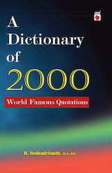 A Dictionary Of 2000 World Famous Quotations