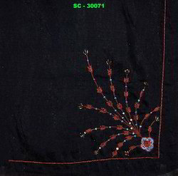 designer embroidered stoles
