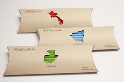 Kraft Recycled Paper Pillow Boxes With Custom Prints