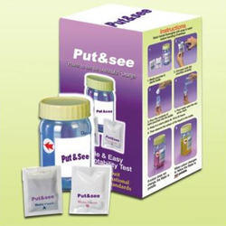 Coliform Test Kit PUT-n-SEE (Bacteria contamination Test)