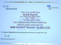 D&B Certification