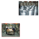 Galvanized Concertina Wire for Automobiles Industries