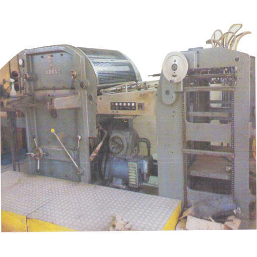 Bobst Punching Machine