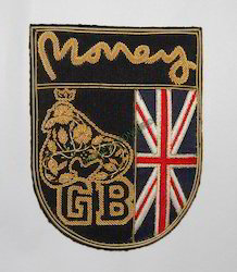 Money Embroidered Badge