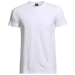 White Round Neck T Shirt