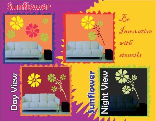 e0c163cd9b Designing Big Stenciles - Big Sun Flower Stencil Manufacturer from Delhi